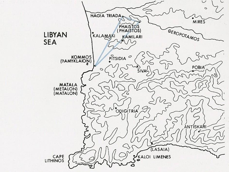 Past Minoan Triangle